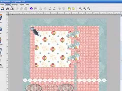 Scrapbooks Plus - How to Make Digital Scrapbooking Page Layo
