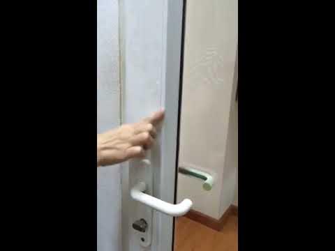 How to clean uPVC window and door