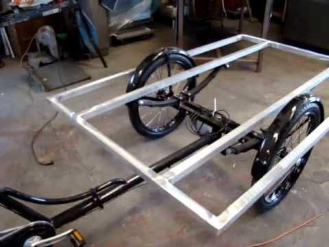 Coffee Bike Fabrication