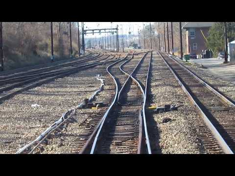 SEPTA R5 Crossing Over at THORN (Thorndale)