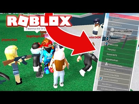 GETTING THE WHOLE SERVER TO BECOME CRIMINALS! (Roblox Prison Life)