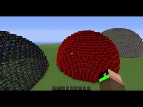 MineCraft: How to make a Dome