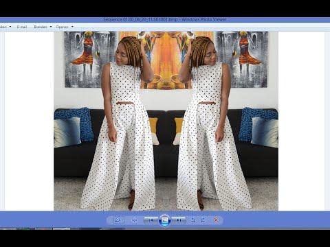 DIY How  To Make A  Two Piece Peplum Dress