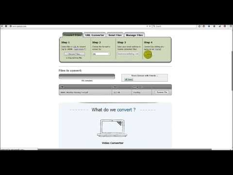 Intro to Zamzar.com FREE File Conversion Tool Online