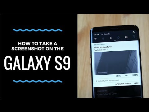 How to Take a Screenshot on the Galaxy S9
