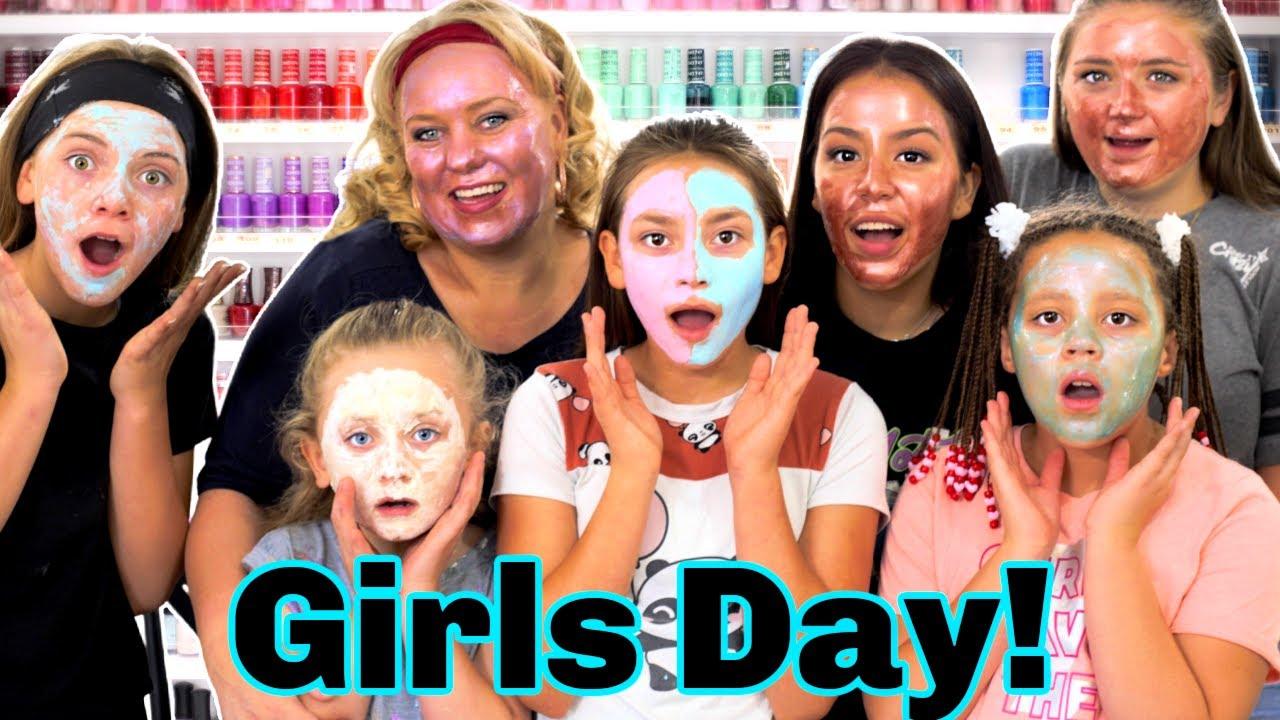 Girls Day! | Spa Day! | Face Masks!