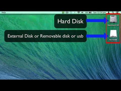Remove Desktop icons on Mac OS X Mavericks