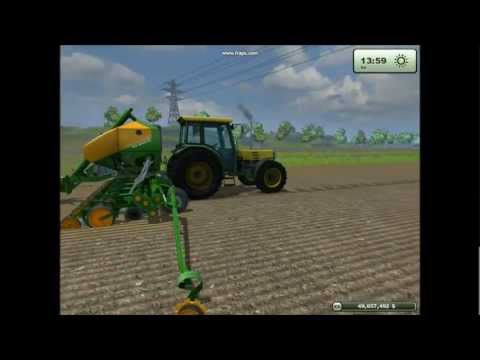 How to plant and harvest corn - Farming Simulator 2013