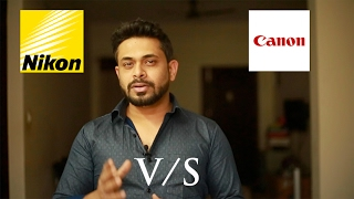 Canon Vs Nikon  - Which is a better DSLR for you?