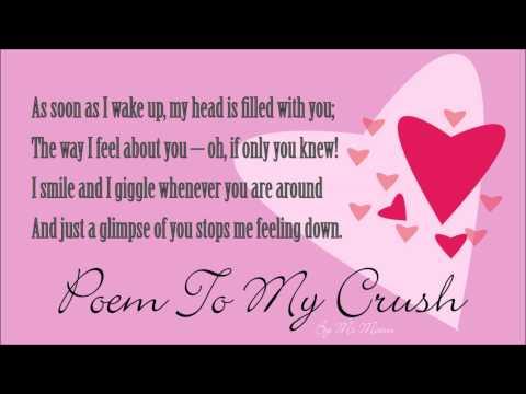 poem to my crush