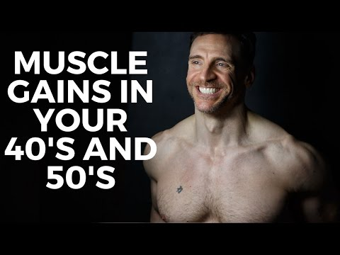 Older Guys Gaining Muscle, Building Muscle in Your 40's and 50's with Victor Costa Vicsnatural