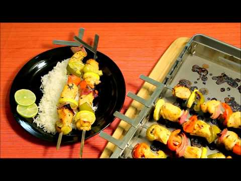 How to make Easy Chicken Kabobs in Oven