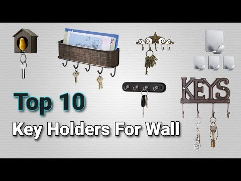 Top 10 Key Holders for Wall 2018