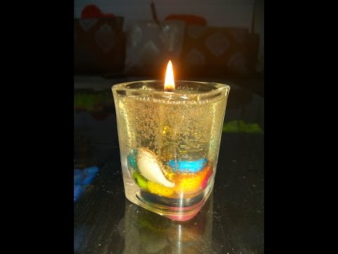 HOW TO MAKE BEAUTIFUL GEL CANDLE