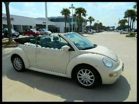 2004 Volkswagen New Beetle Convertible  Houston  TX