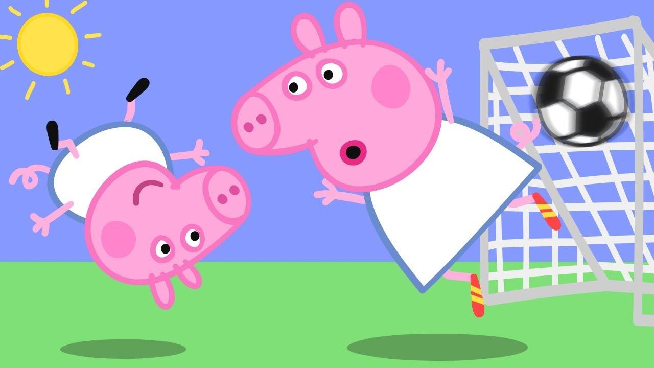 Georges verrücktes Ziel!   Cartoons für Kinder   Peppa Wutz Neue Folgen