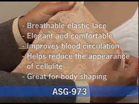 GABRIALLA® Abdominal & Back Support Girdle: ASG-973