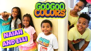 Download EPIC HIDE AND SEEK with Naiah and Elli Toys Show and Goo Goo Colors - Onyx Kids