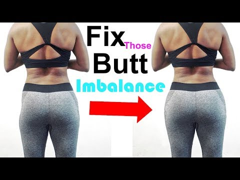 how to fix muscle imbalance or muscle weakness | build bigger butt| wider hips| large hips