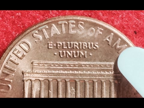 Rare 1992 Lincoln Memorial Penny With 1993 Reverse