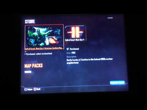 cod black ops 2 nuketown zombies now availible for season pass holders ps3