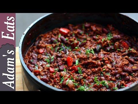 British chilli con carne | how to make chili con carne