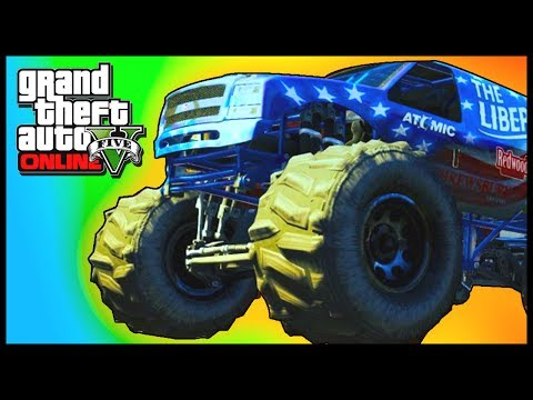 GTA 5: NEW MONSTER TRUCK! GTA 5