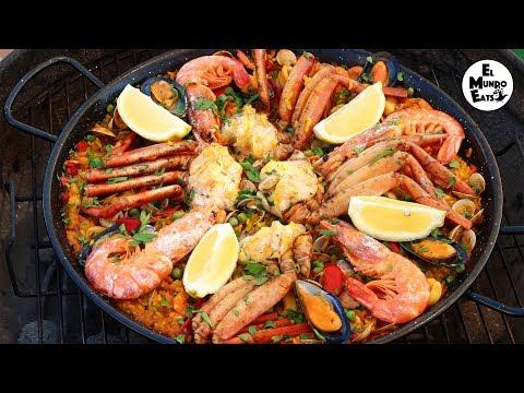 Spanish Seafood Paella | El Mundo Eats recipe #61