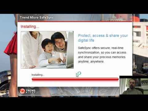 GiveAway! and review of Trend Micro SafeSync
