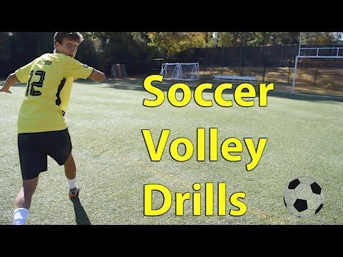 Soccer Volley Drills