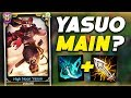 BUFFED YASUO = 1v9 EVERY GAME - NOW A YASUO ONE TRICK (League of Legends)