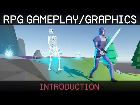 Create an RPG with Unity + Blender (introduction)