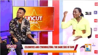 Justine Nameere in a bitter exchange with Ashburg Kato over her feud with Farida Nakazibwe| Uncut