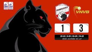 LAF (2ème J) : VBCC 1-3 Vandoeuvre-Nancy