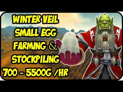 WoW Gold Farming Patch 6.2.4: Winter Veil Gold Making - Small Egg Stockpiling- WoD Gold Guide