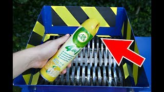 SHREDDING AIR WICK TOILET SPRAY - AIR FRESHENER ROCKET!