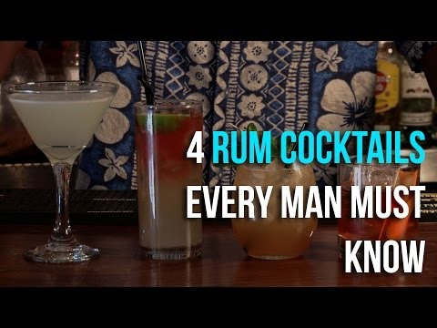 How To Make A Rum Old Fashioned Cocktail