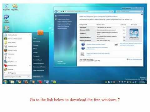 DOWNLOAD Windows 7 Free