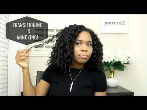 HAIR STYLING GIVES ME ANXIETY! | The Transitioning Hair Chronicles #3