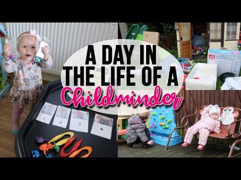 A DAY IN THE LIFE OF A CHILDMINDER - GETTING OUTSIDE - MATHS TUFF TRAY - A CHILDMINDING MUMMY