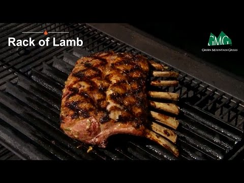 How To Grill a Rack of Lamb - Green Mountain Pellet Grills