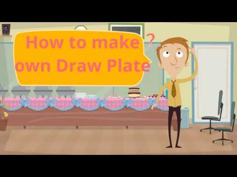 how to make own draw plate