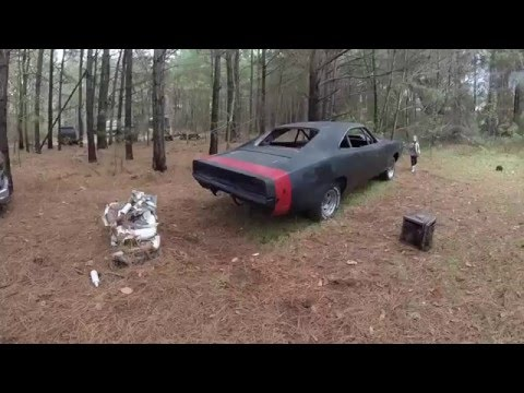 1969 charger 69 project black widow rear bumper update