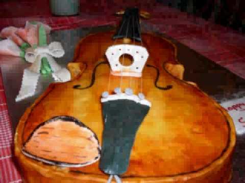 Violin & barbie Birthday cakes