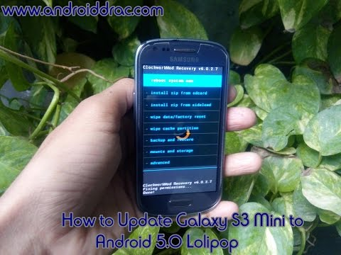 How to install Android 5.0 Lolipop in Samsung Galaxy S3 Mini
