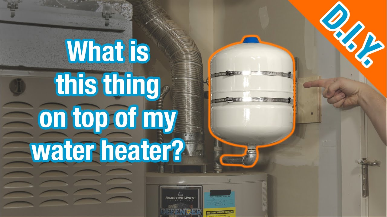 What Is This Tank? How to Replace and Maintain a Water Heater Thermal Expansion Tank