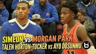 Talen Horton-Tucker vs Ayo Dosunmu: Simeon vs Morgan Park Intense Chicago Rivalry Game