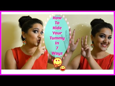 7 ways to hide your tummy