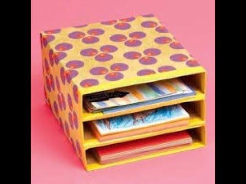 DIY Magazine Holder- Organise your desk