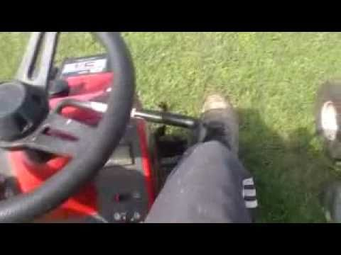 how to make riding mower fast
